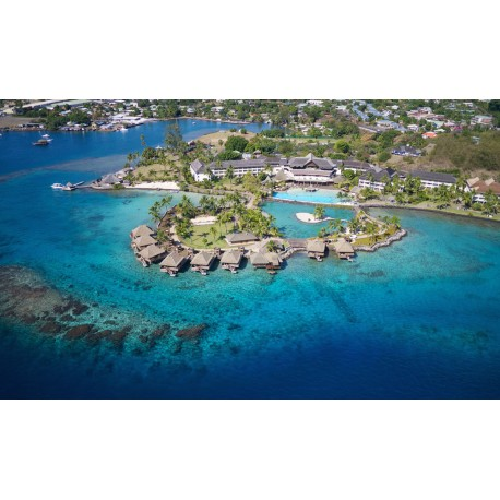 Vol Raiatea Papeete + 1 nuit Intercontinental Tahiti Resort